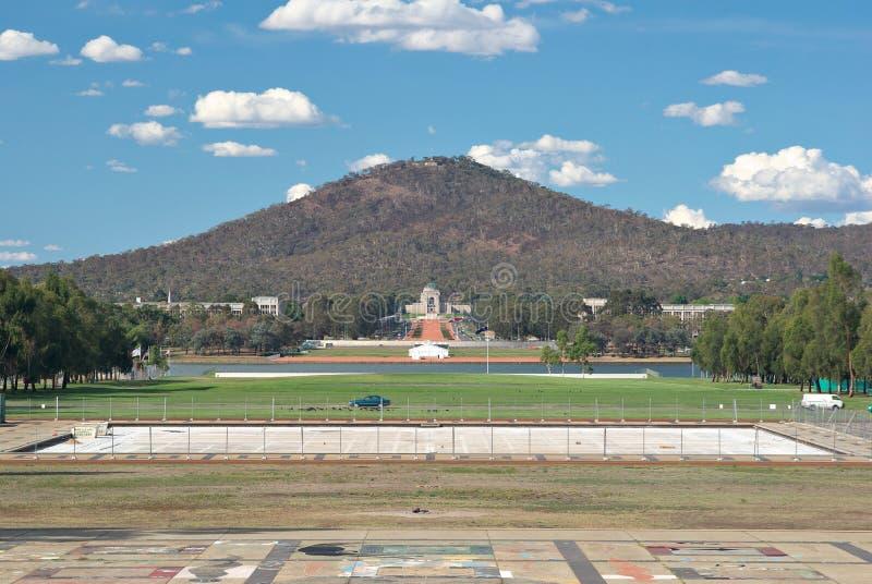 Memorial da guerra de Canberra   foto de stock