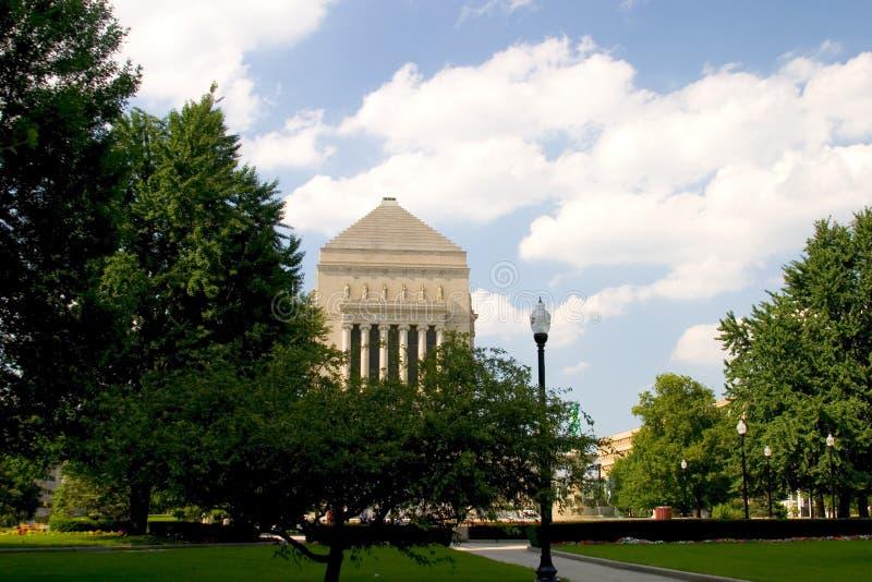 Memorial da guerra de Indiana foto de stock royalty free