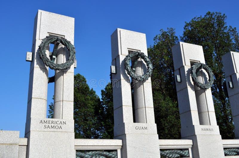 Memorial da guerra mundial 2 imagens de stock