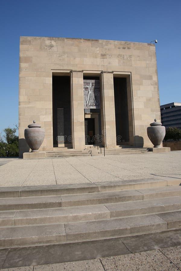Memorial da liberdade - Kansas City imagem de stock