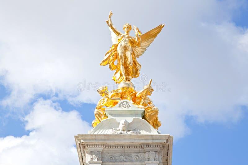 Memorial da rainha Victoria do close up foto de stock royalty free