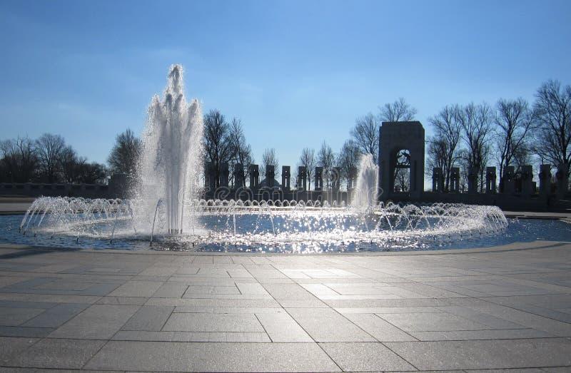 Memorial da segunda guerra mundial imagens de stock