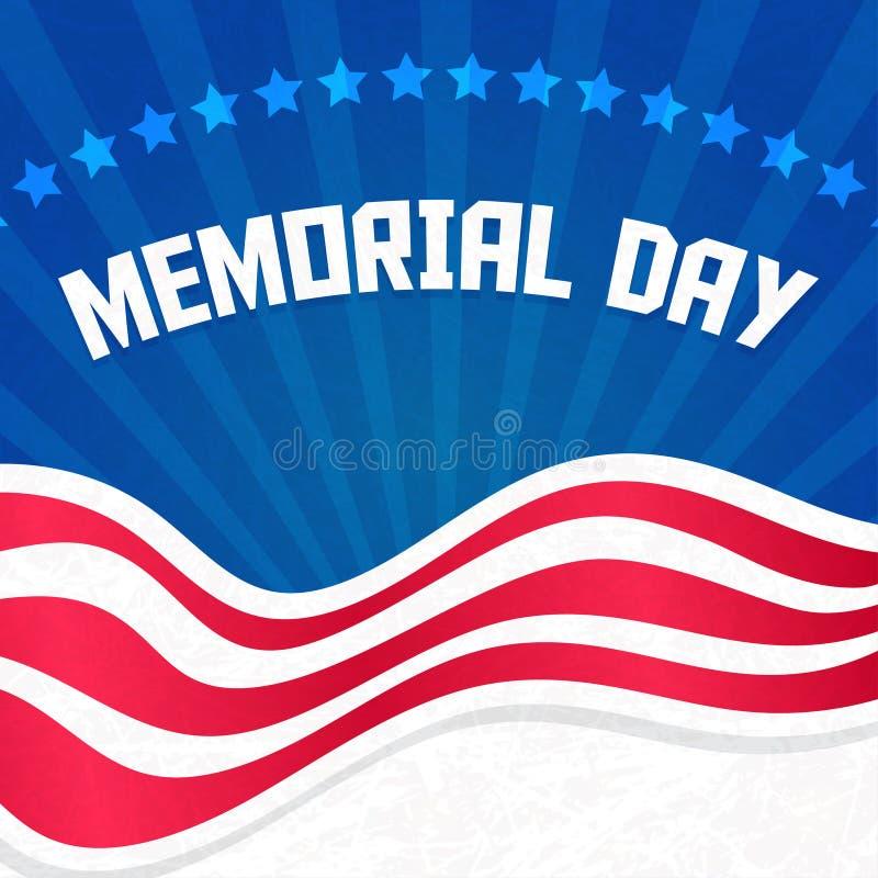 Memorial Day ilustração stock