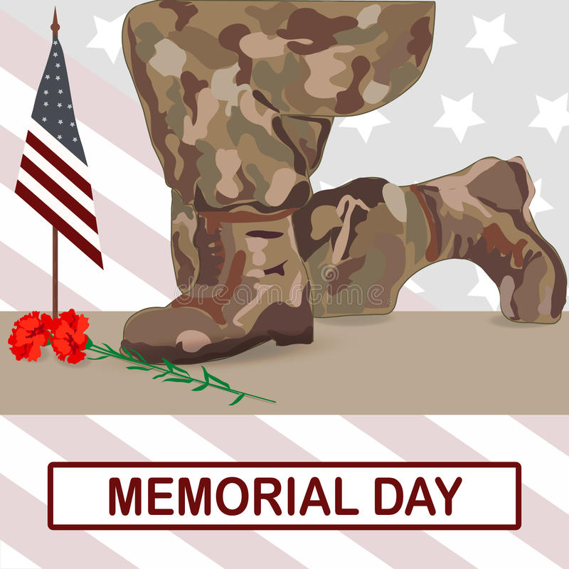 Memorial Day imagem de stock royalty free