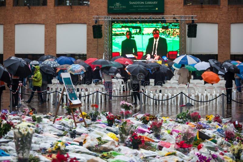 Memorial Day de Mandela imagen de archivo