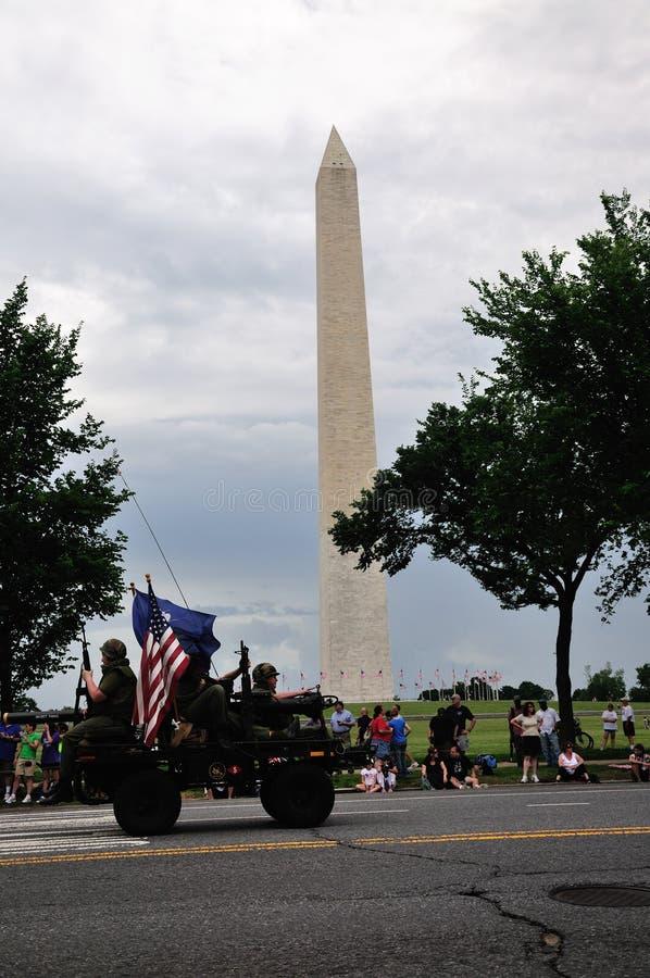 Memorial Day no Washington DC imagens de stock
