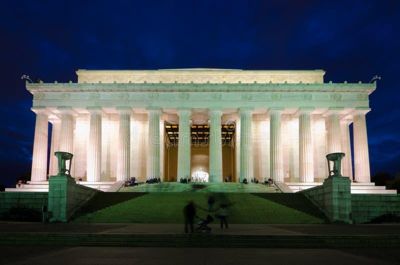 Memorial de Abraham Lincoln, Washington DC EUA imagem de stock royalty free