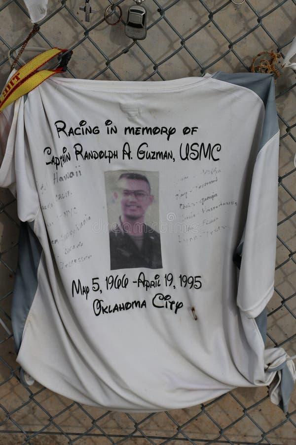 Memorial de Afred P Murrah do Oklahoma City fotos de stock