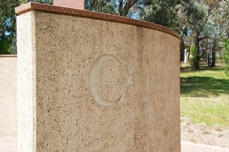 Memorial de Ataturk em Canberra Austrália imagem de stock