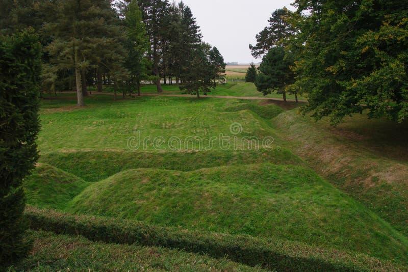 Memorial de Beaumont-Hamel Terra Nova foto de stock