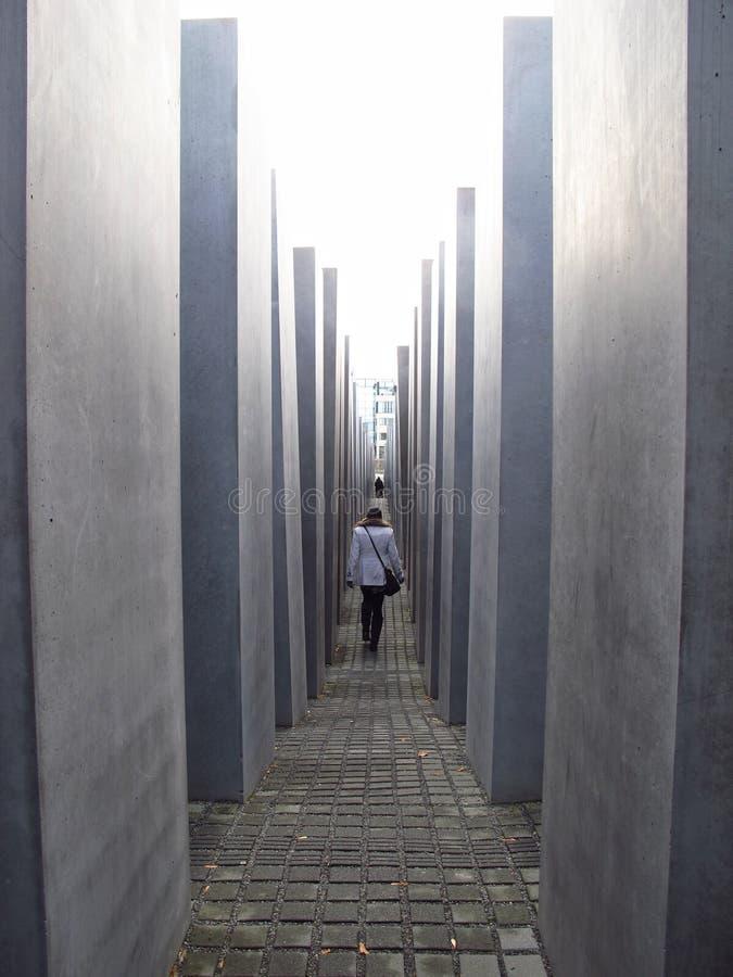Memorial de Berlin Germany Holocaust foto de stock