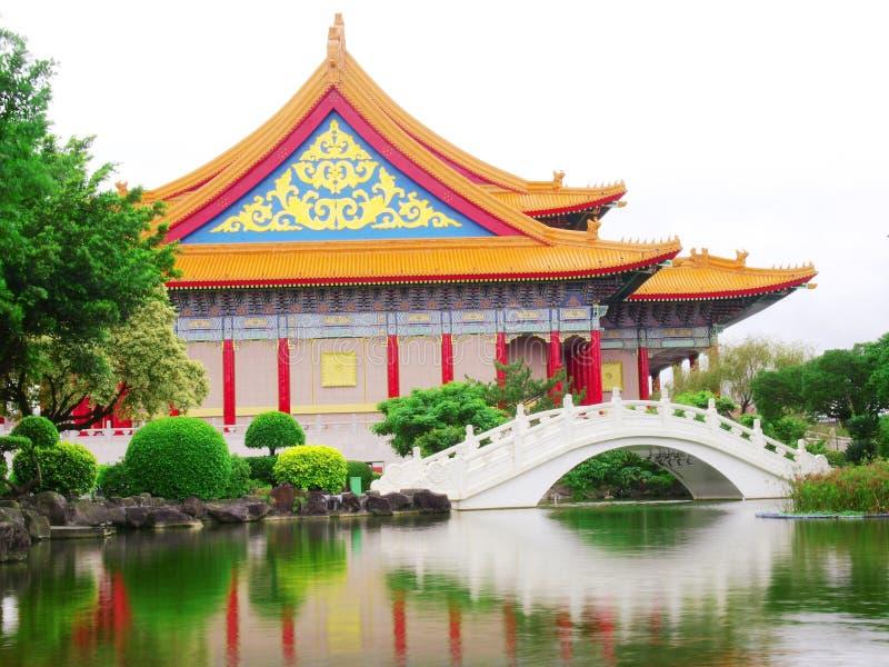 Memorial de Chiang Kai-shek hal imagem de stock