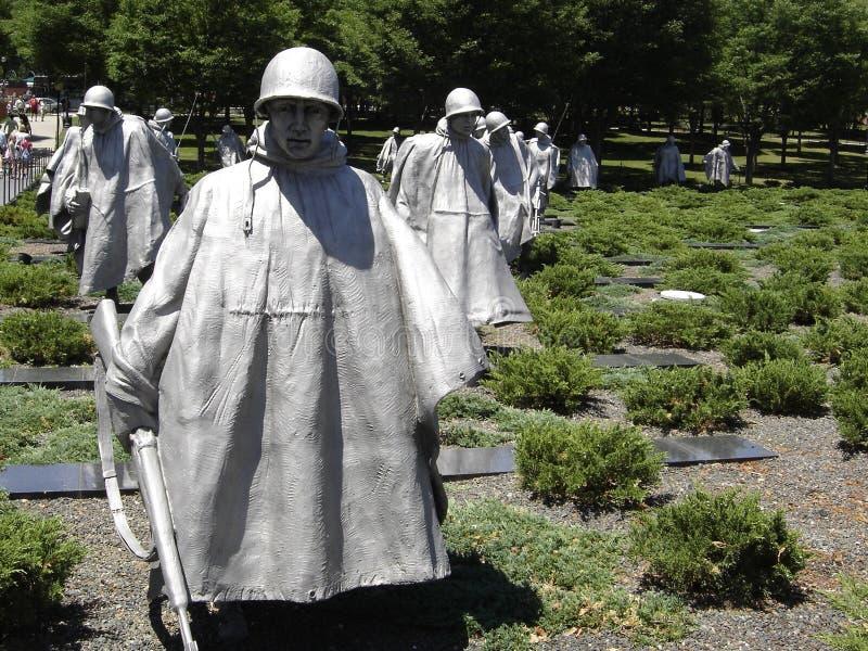 Memorial de Guerra da Coreia foto de stock