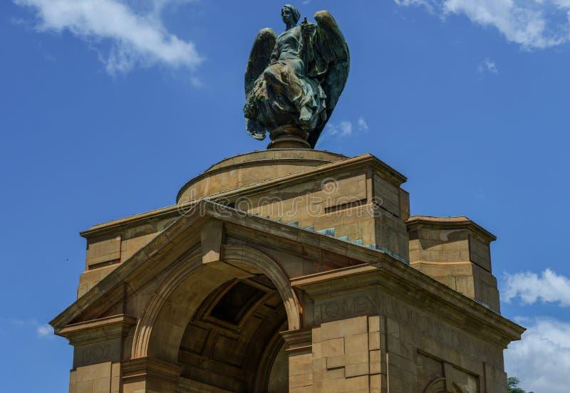 Memorial de guerra do Anglo-Boer, Joanesburgo fotografia de stock