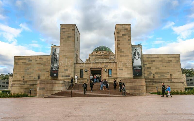 Memorial de guerra nacional australiano foto de stock