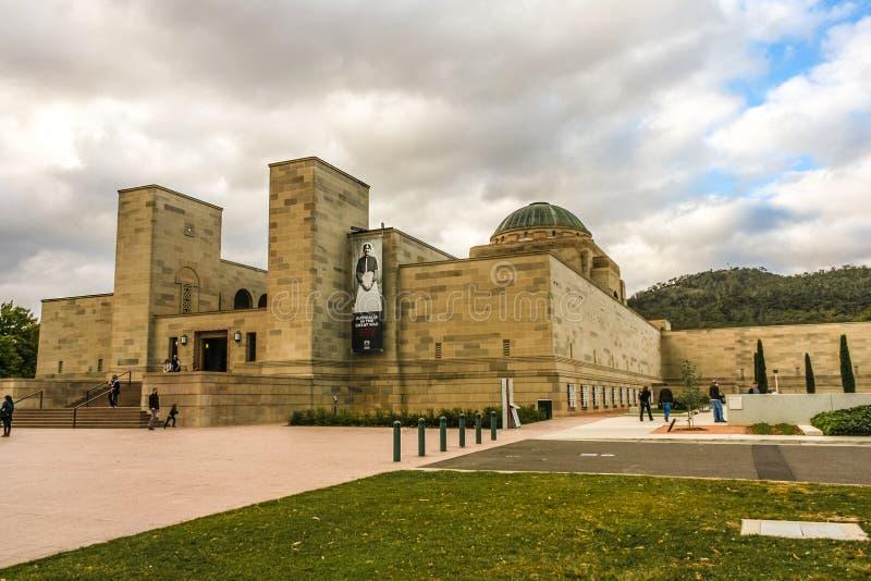 Memorial de guerra nacional australiano fotos de stock