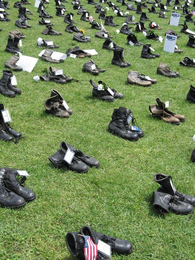 Memorial de Iraque fotos de stock royalty free