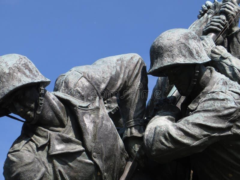 Memorial de Iwo Jima fotos de stock royalty free