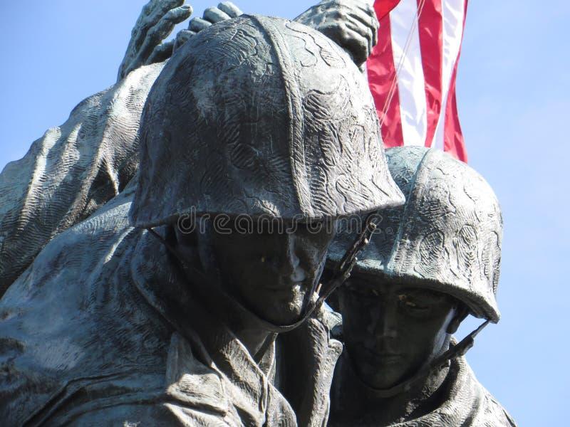 Memorial de Iwo Jima fotografia de stock