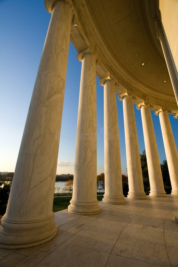 Memorial de Jefferson imagem de stock royalty free