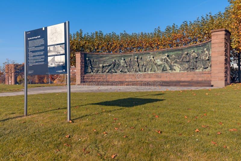 Memorial de Krupp (Essen) fotografia de stock