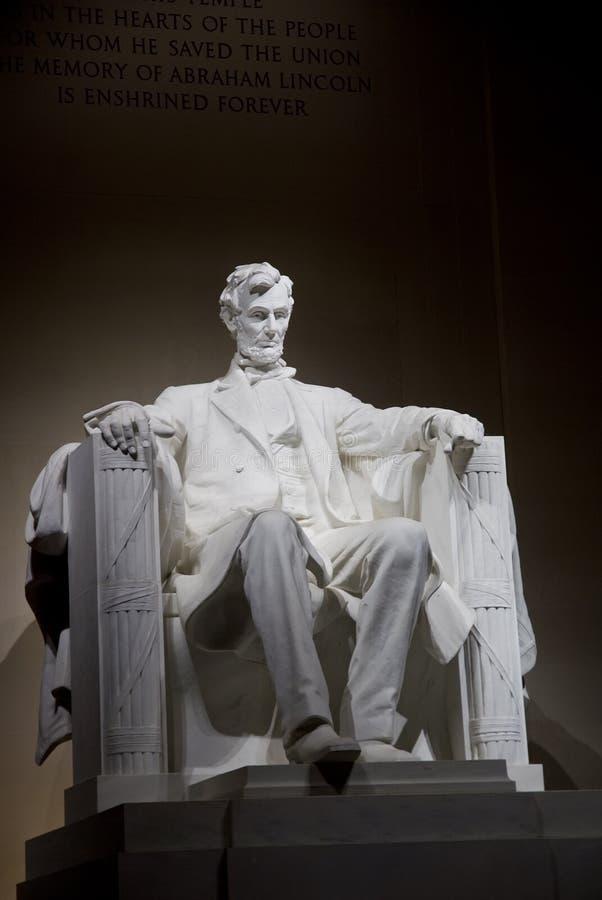 Memorial de Lincoln fotografia de stock