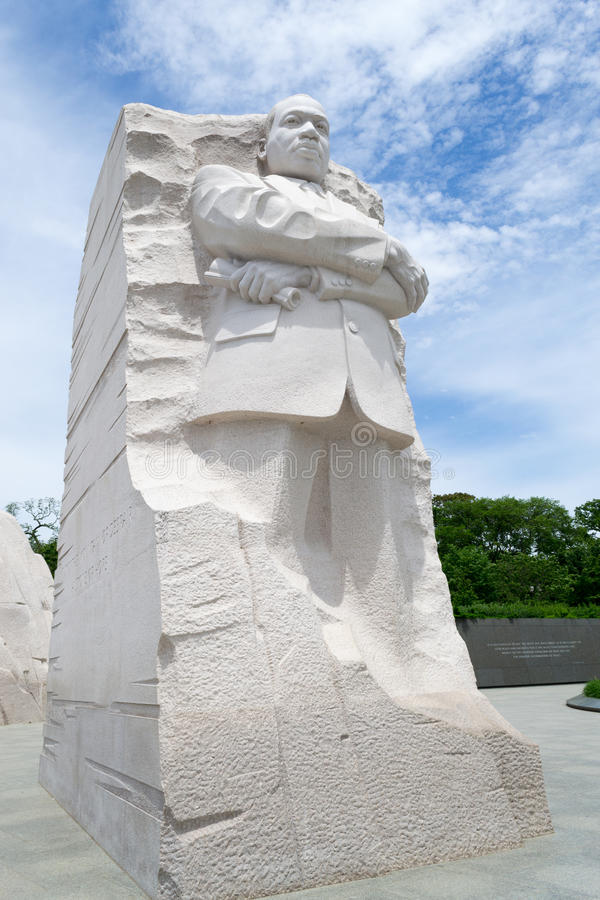 Memorial de Martin Luther King na C.C. imagem de stock