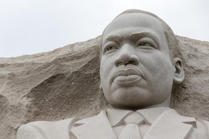 Memorial de Martin Luther King no Washington DC fotografia de stock