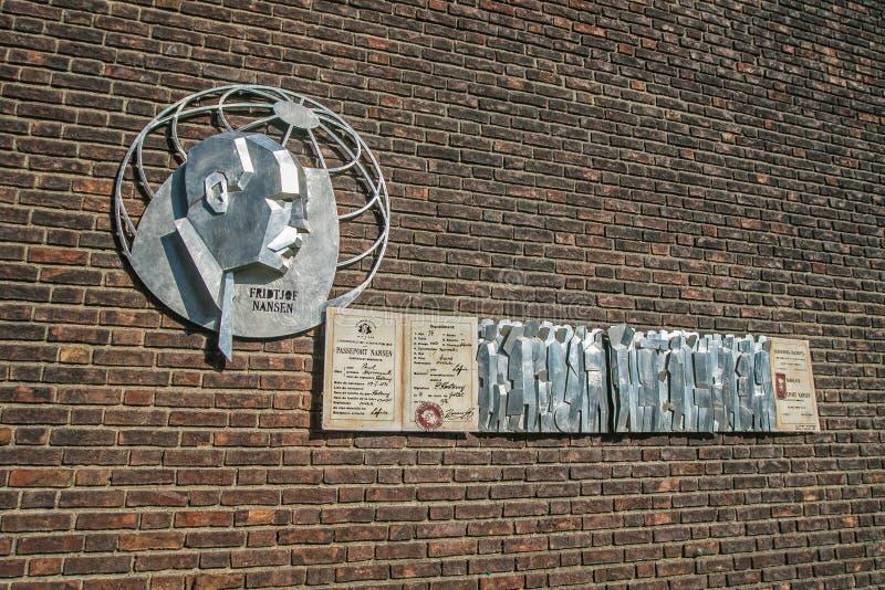Memorial de Nansen foto de stock