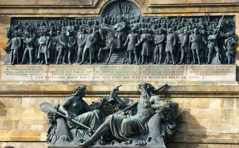 Memorial de Niederwald fotos de stock