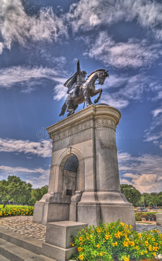 Memorial de Sam Houston imagens de stock royalty free