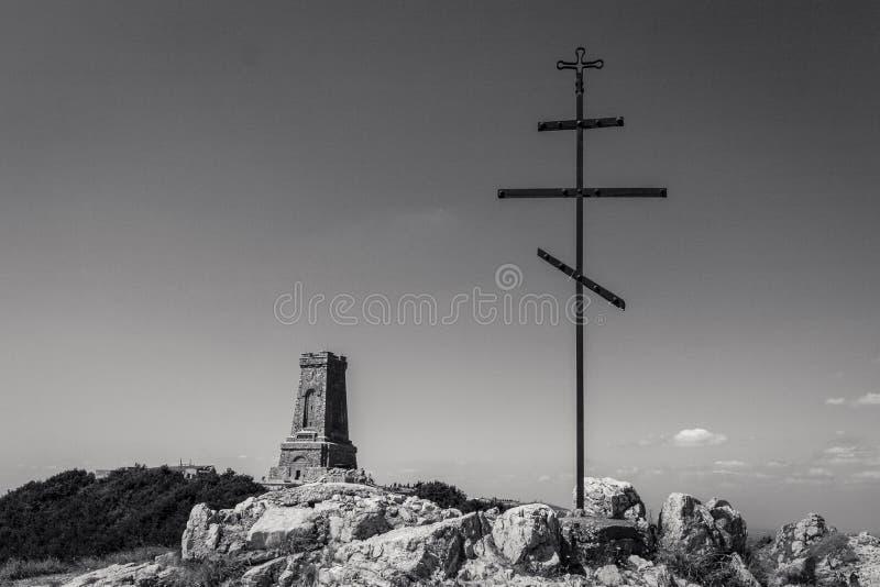 Memorial de Shipka imagem de stock