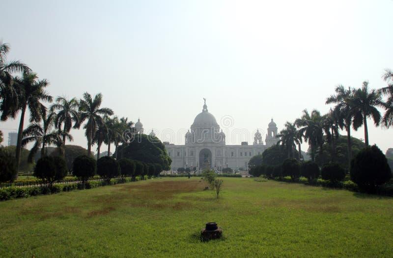 Memorial de Victoria em Kolkata imagens de stock royalty free