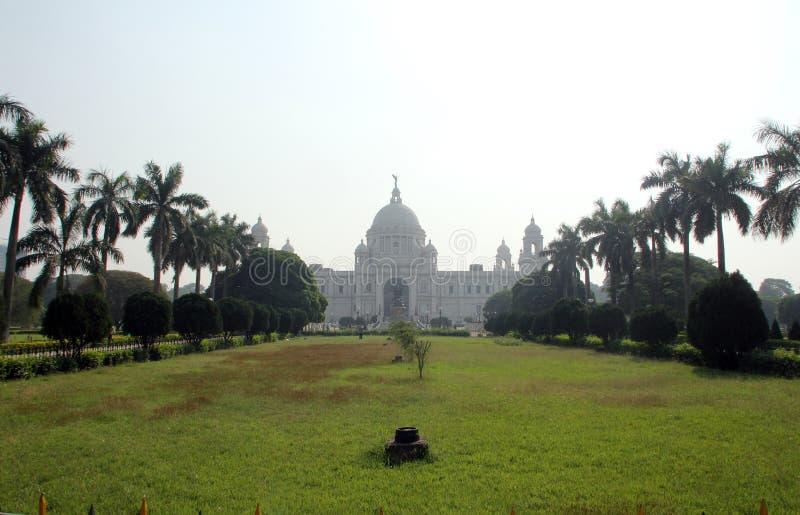 Memorial de Victoria em Kolkata imagem de stock