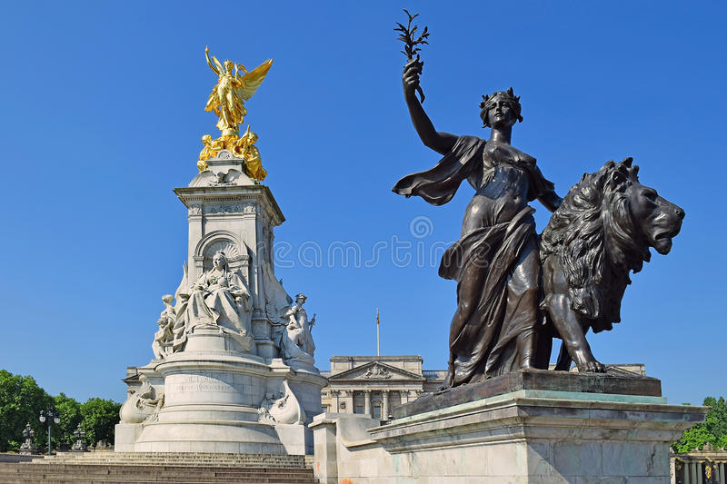 Memorial de Victoria, Londres imagem de stock royalty free