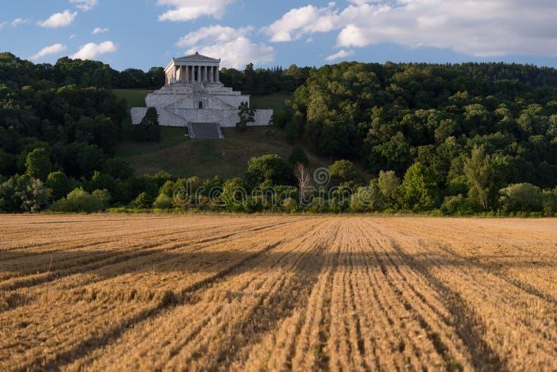 Memorial de Walhalla, Alemanha imagens de stock