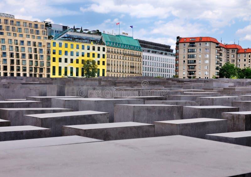 Memorial do holocausto, Berlim imagens de stock royalty free