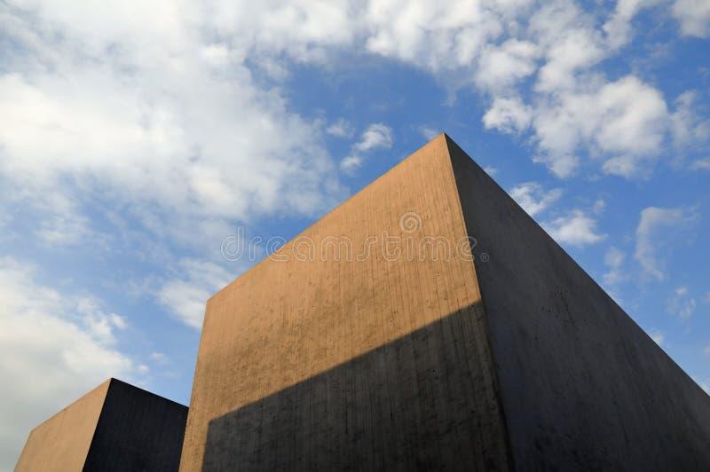 Memorial do holocausto em Berlim fotografia de stock