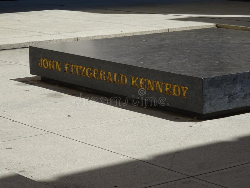 Memorial do JFK Dallas imagem de stock