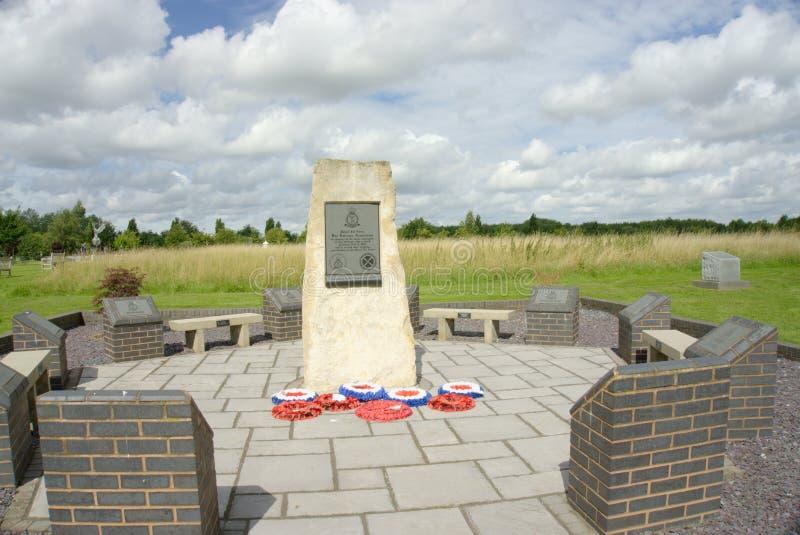 Memorial do menino do RAF fotos de stock royalty free