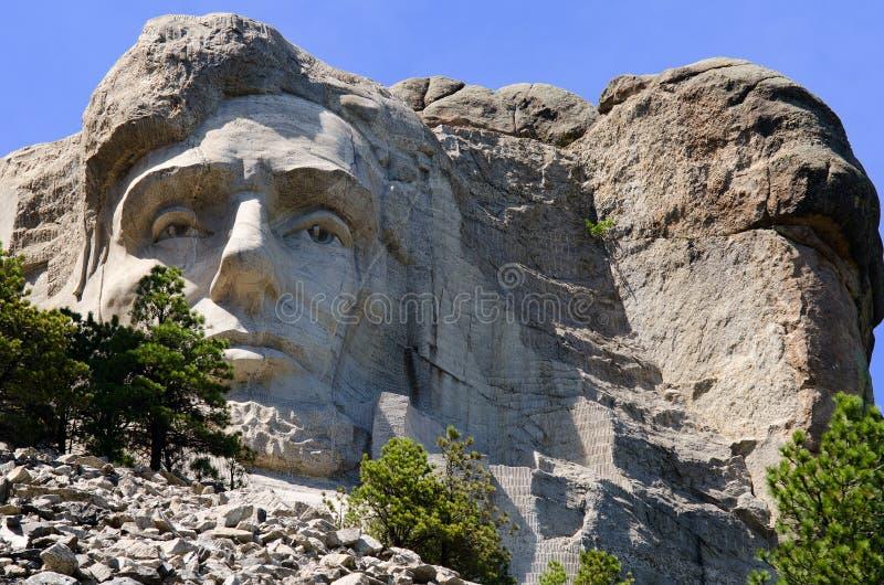Memorial do nacional de Rushmore da montagem imagens de stock