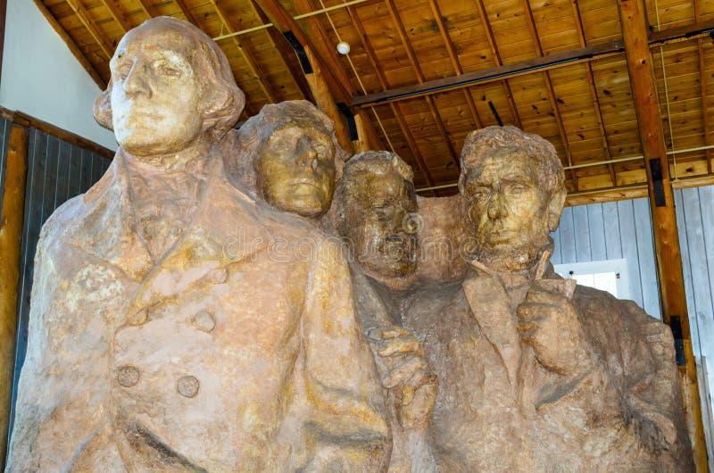 Memorial do nacional do rushmore da montagem imagem de stock