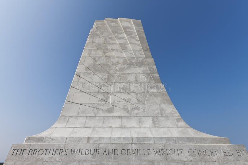 Memorial do nacional dos irmãos de Wright imagem de stock royalty free