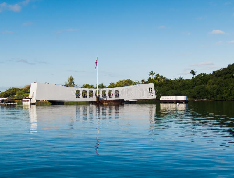 Memorial do Pearl Harbor fotos de stock