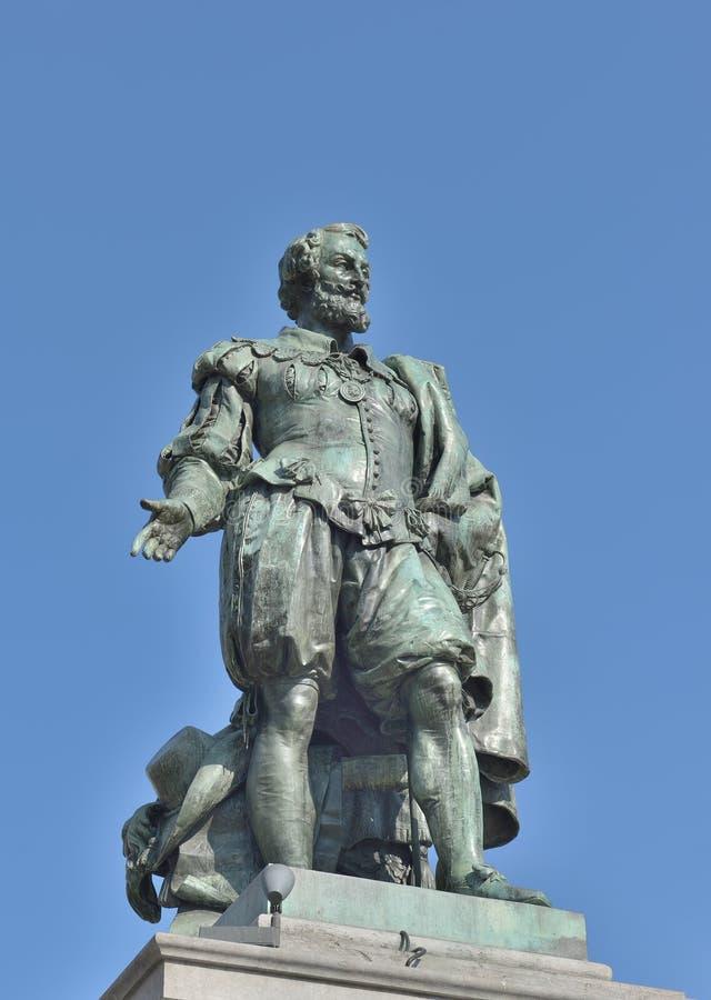 Memorial do pintor Peter Paul Rubens foto de stock royalty free