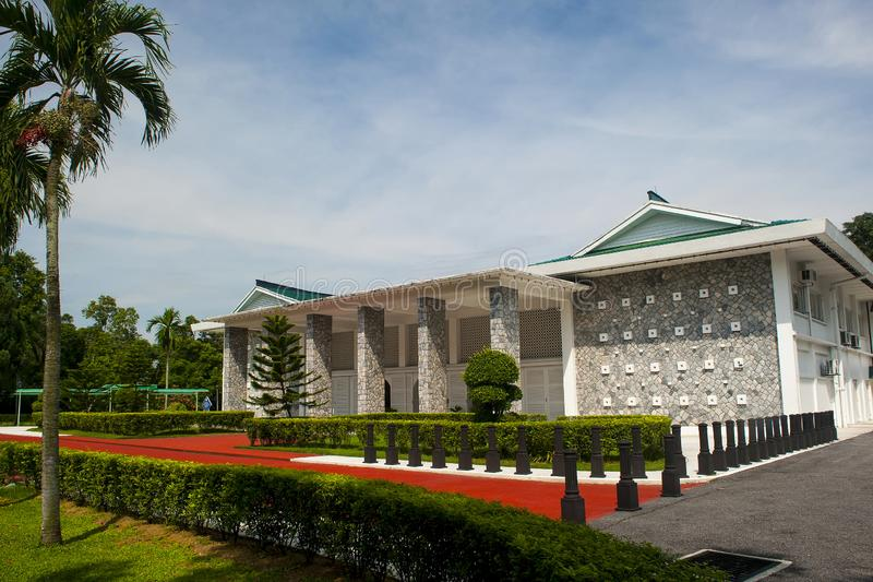 TUN ABDUL RAZAK MEMORIAL. The memorial is housed within Sri Taman, once the residence of Tun Abdul Razak, Malaysia`s second Prime Minister 1970-1976. He was royalty free stock photo