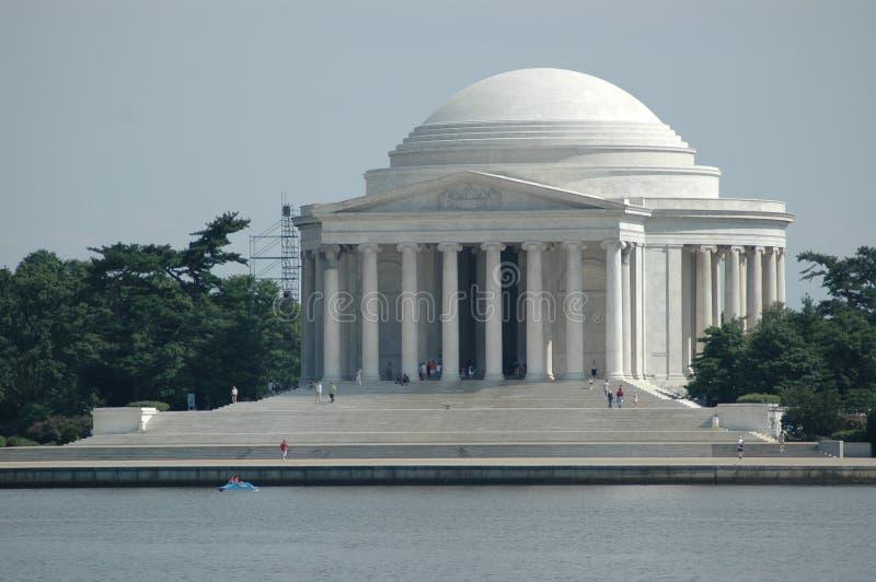 Memorial II de Jefferson fotografia de stock