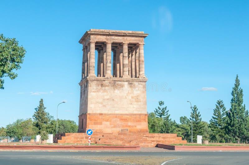 Memorial inoperante honrado em Kimberley fotos de stock