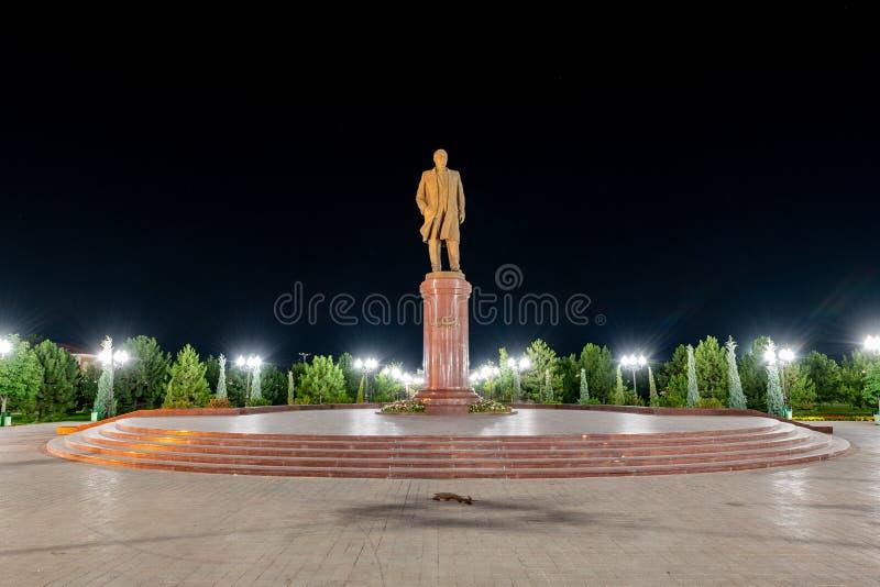 Memorial Islam Karimov - Samarkand, Usbequistão fotografia de stock royalty free