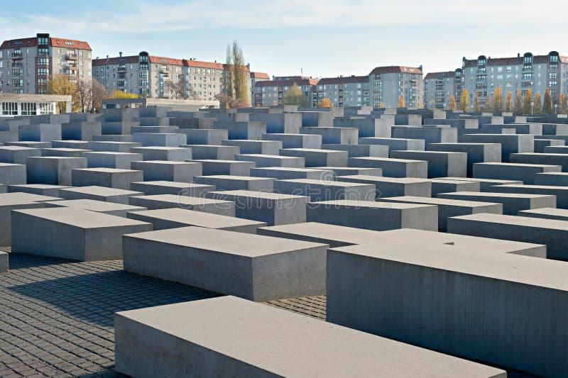 Memorial judaico do holocausto, Berlim fotos de stock